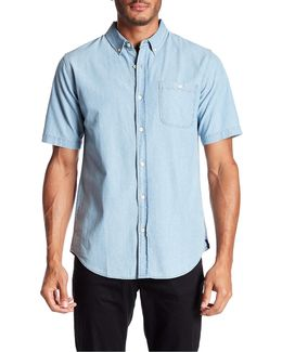 Springfield Short Sleeve Chambray Shirt