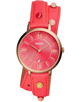 Women's Jacqueline Three-hand Date Quartz Watch