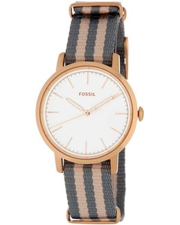 Women's Neely Two-tone Nylon Watch