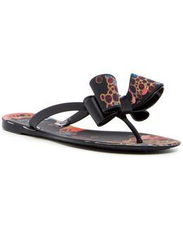 Matte Bubbles Sandal