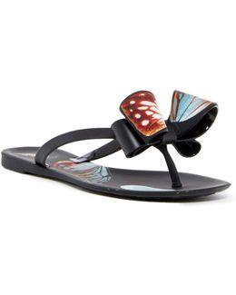 Matte Butterfly Sandal