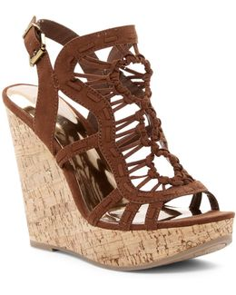 Banjo Platform Wedge Sandals