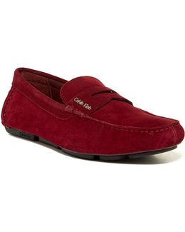 Martyn Calf Suede Loafer