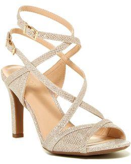 Queen Glitter Sandal