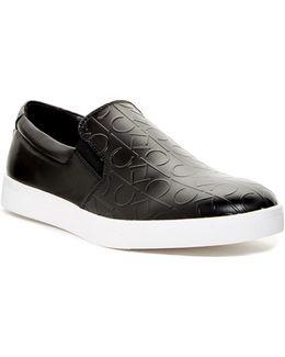 Ivo Ck Embossed Slip-on Sneaker