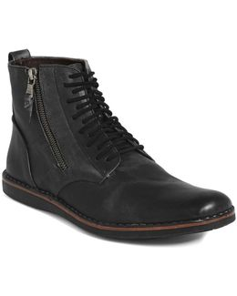 'barrett' Plain Toe Boot (men)