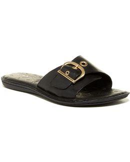 Haiki Buckle Slide Sandal