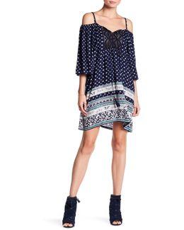 Crochet Cold Shoulder Dress