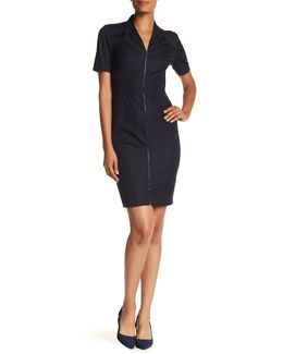 Madeline Adjustable Front Zip Dress