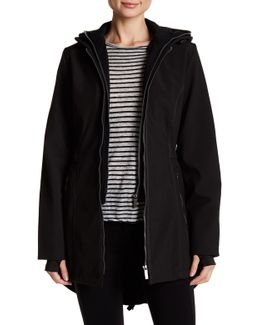 Hooded Softshell Utility Coat