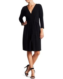 Trish Jersey Wrap Dress