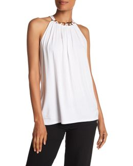 Lauren Loop Collar Knit Tank