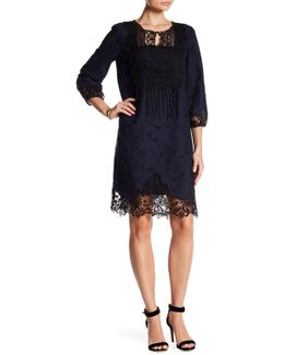 Amanda Embroidered Dress