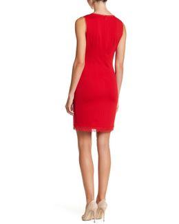Roberta Beaded Lace Yoke Dress