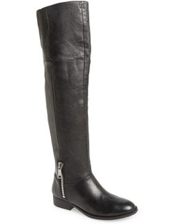 Fawn Leather Riding Boot