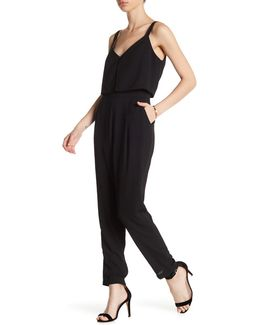 Sleeveless Popover Jumpsuit