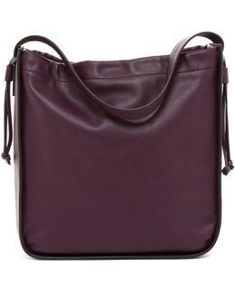 Dane Faux Leather Hobo Bag