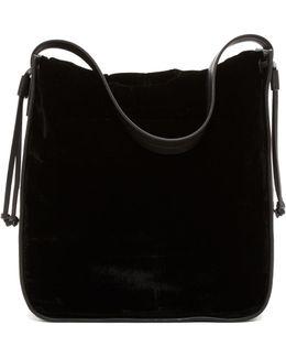 Dane Velvet Hobo Bag