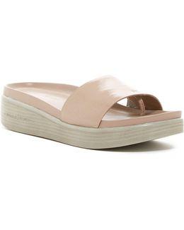 Fiji Platform Hidden Thong Sandal