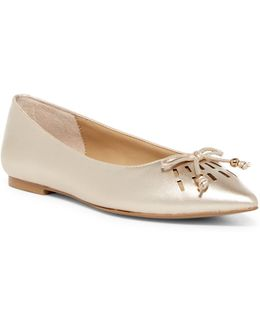 Fitzi Pointed Toe Flat