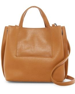 Fleury Vegan Leather Satchel
