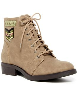 Foxtrt Embroidered Combat Boot