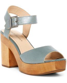 Front Platform Sandal