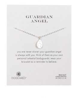 Sterling Silver My Guardian Angel Bracelet
