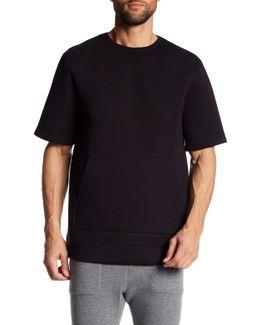 Oversized Short Sleeve Sweatshirt