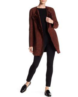 Nyma F Light Genuine Shearling Coat