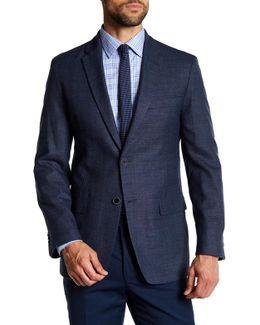 Bray Blue Two Button Notch Lapel Sportcoat