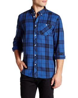 Ole Plaid Long Sleeve Relaxed Fit Shirt