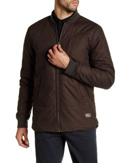 Griffin Padded Bomber Jacket
