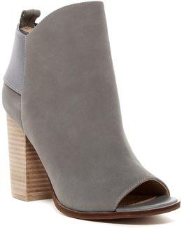Gemma Open Toe Boot