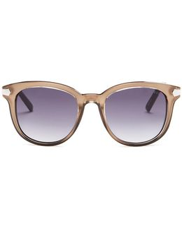Women's Square Injected Sunglasses