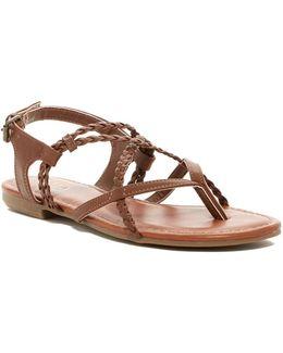 Dannie Braided Thong Sandal