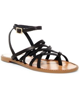 Gia Strappy Cage Sandal