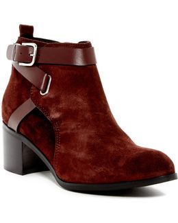 Gianni Buckle Strap Bootie