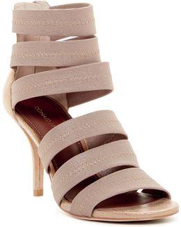 Gigee Crepe Elastic Banded Dress Sandals