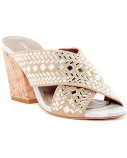 Gilian Embellished Slide Sandal