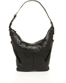 Joan Leather Hobo Bag