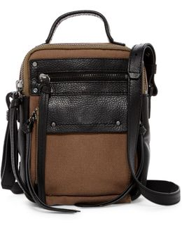 Phoenix Leather Trimmed Camera Bag