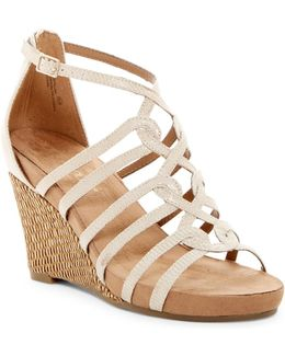 Great Plush Wedge Sandal