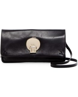 Opal Leather Convertible Wallet Crossbody