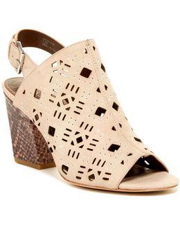 Gyseles Studded Cutout Sandal