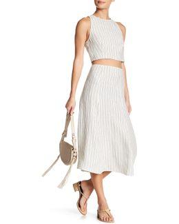 Zimri Narrow Stripe Skirt