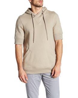 Short Sleeve Hooded Sweatshirt