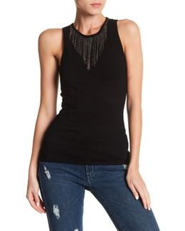 Chains Necklace Tank