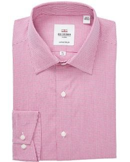 Print Slim Fit Dress Shirt