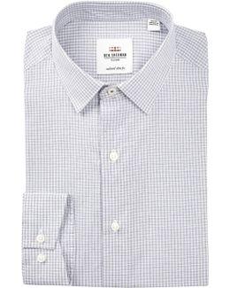 Micro Print Slim Fit Dress Shirt